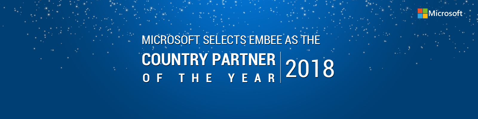Microsoft Country Partner 2018.