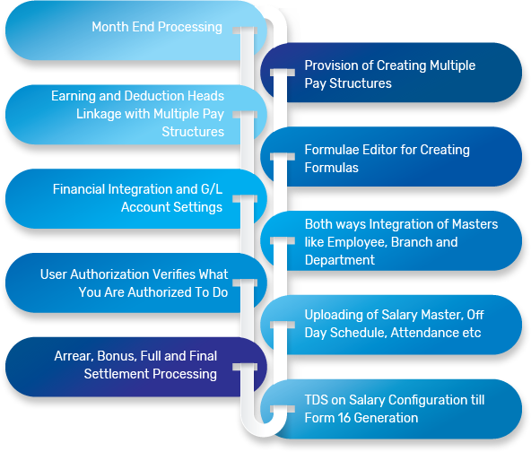 Implement an automated and customized payroll management system